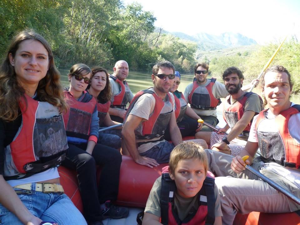 Ver la imagen en tamaño real. Descenso por el río Segura para voluntarios del LIFE+SEGURARIVERLINK