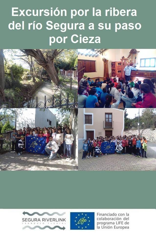 Ver la imagen en tamaño real. El Colegio Cristo del Consuelo, un incondicional del LIFE+SEGURARIVERLINK