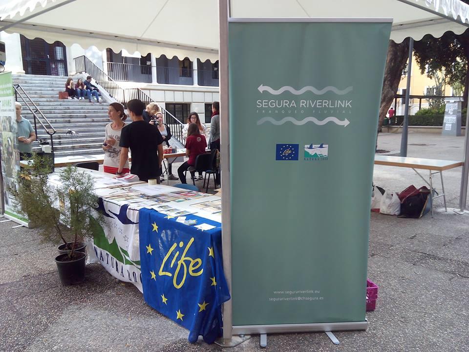 Ver la imagen en tamaño real. LIFE+SEGURARIVERLINK ( y otros proyectos LIFE) participan en las Jornadas Arte y Medio Ambiente
