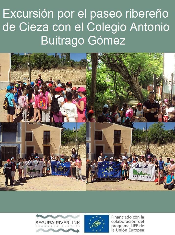 Ver la imagen en tamaño real. Colegio Antonio Buitrago Gómez descubre el LIFE+SEGURARIVERLINK
