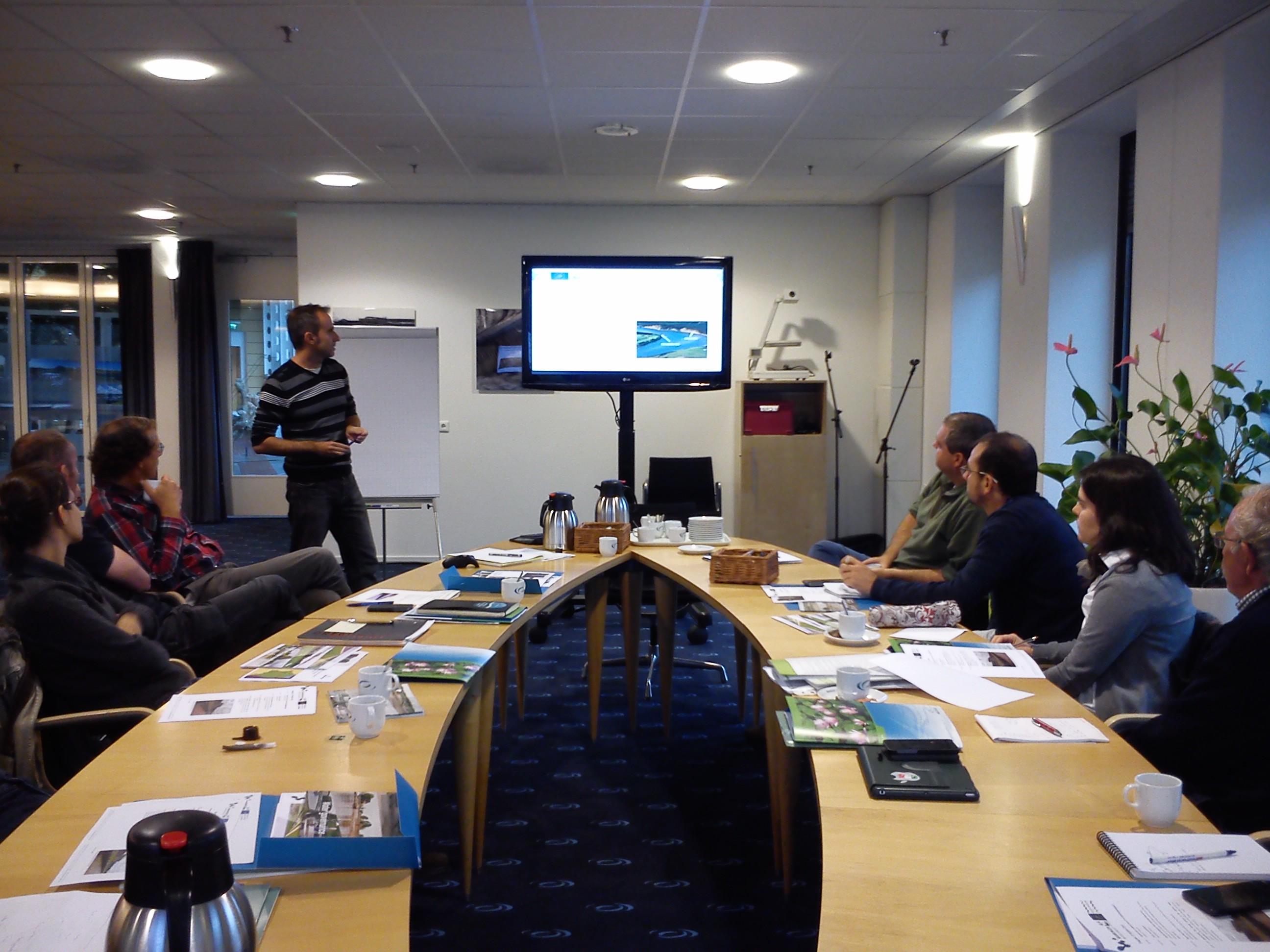 Ver la imagen en tamaño real. El proyecto LIFE SEGURA RIVERLINK celebra el primer workshop internacional del proyecto en Holanda