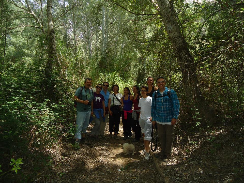 Ver la imagen en tamaño real. La CHS implica a propietarios y usuarios en el cuidado del ecosistema de la Ribera de Cañaverosa