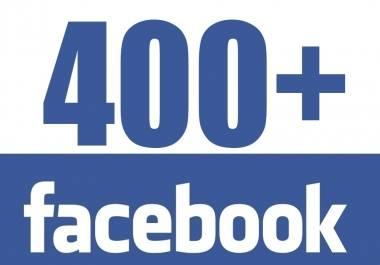Ver la imagen en tamaño real. Superamos los 400 seguidores en Facebook y  300  en Twitter