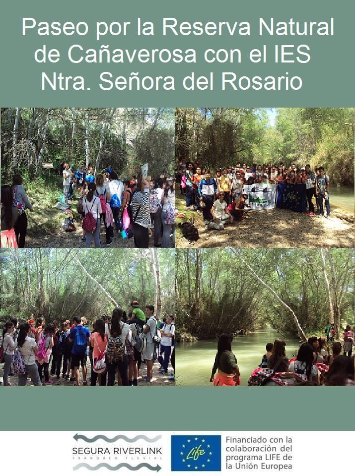 Ver la imagen en tamaño real. Los Colegios Ntra. Sra. del Rosario y Antonio Buitrago salen al río de la mano de SEGURARIVERLINK