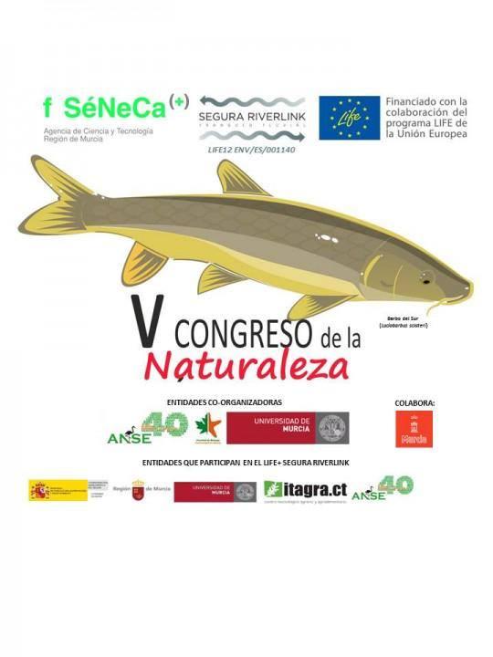 Ver la imagen en tamaño real. La Verdad informa de la organización del V congreso de la Naturaleza y II del Sureste Ibérico organizado en el contexto del LIFE+SEGURARIVERLINK