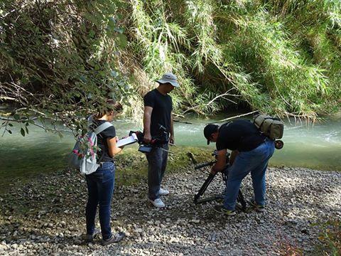 Ver la imagen en tamaño real. LIFE+SEGURARIVERLINK colabora en la filmación de un documental sobre la biodiversidad del río