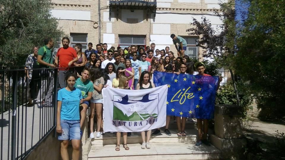 Ver la imagen en tamaño real. El proyecto SEGURARIVERLINK presentado ante jóvenes europeos de intercambio en Europa