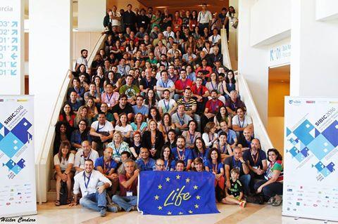 Ver la imagen en tamaño real. LIFE+SEGURARIVERLINK participó en la sesión especial de proyectos LIFE de SIBIC2016