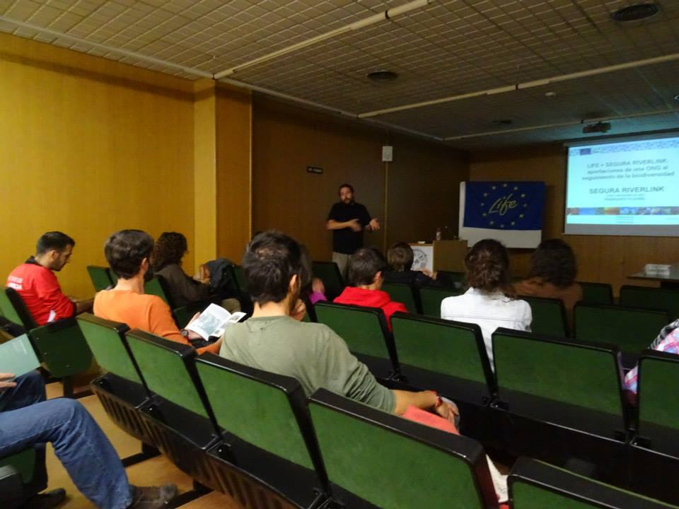 Ver la imagen en tamaño real. Primeros resultados del seguimiento de fauna presentados en la Universidad de Murcia con VEDEMA