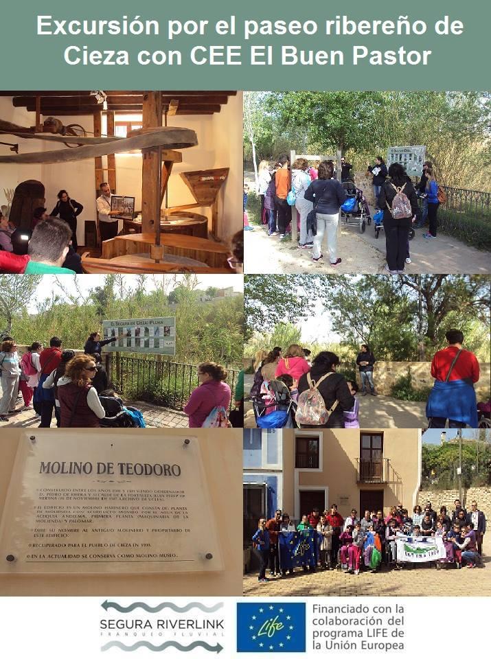 Ver la imagen en tamaño real. Los chicos y chicas del CEE El Buen Pastor descubren el río con SEGURARIVERLINK