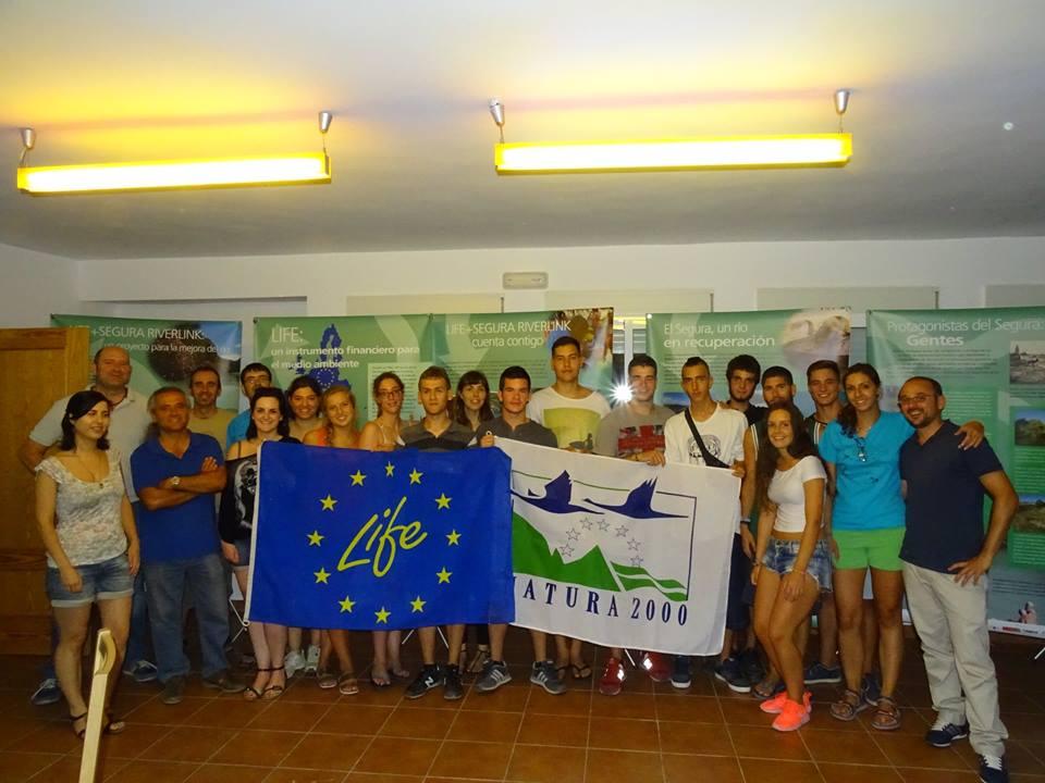Ver la imagen en tamaño real. 20 voluntarios de diferentes Comunidades Autónomas trabajarán en la recuperación ambiental del Río Segura
