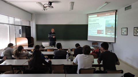 Ver la imagen en tamaño real. Charla sobre el LIFE+SEGURARIVERLINK en el Master de la Universidad de Alicante