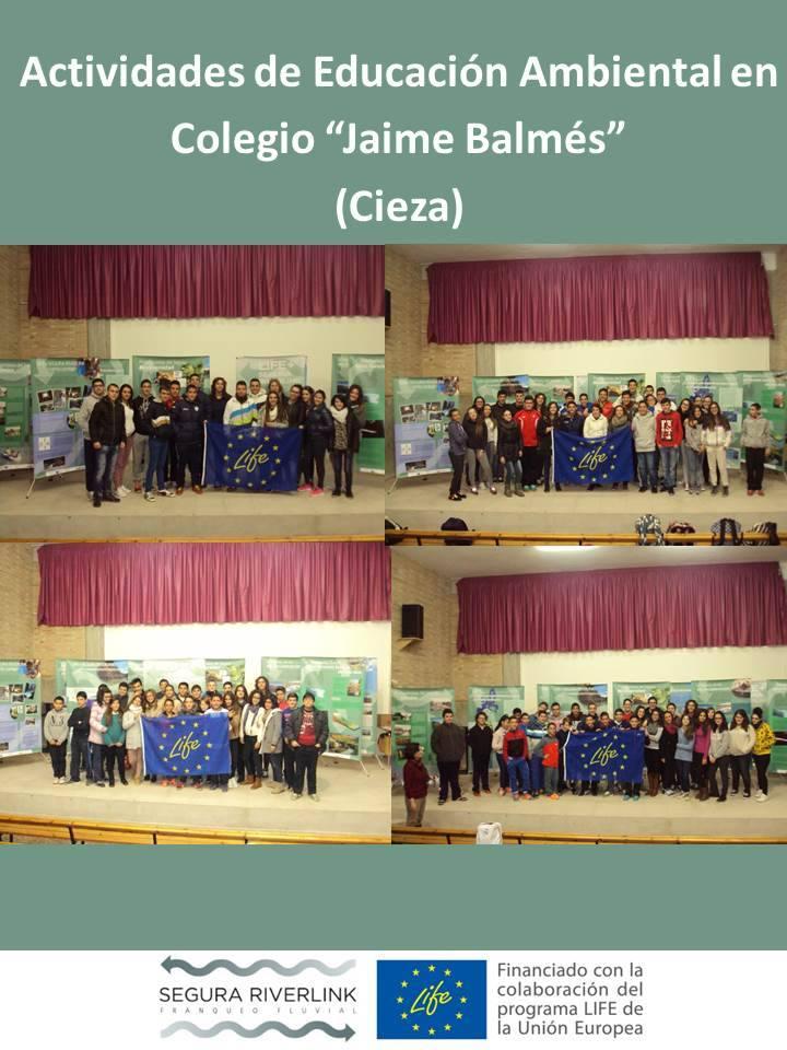 Ver la imagen en tamaño real. 180 alumnos del Colegio