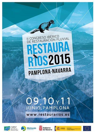 Ver la imagen en tamaño real. LIFE + SEGURA RIVERLINK asistirá al  RESTAURARIOS 2015