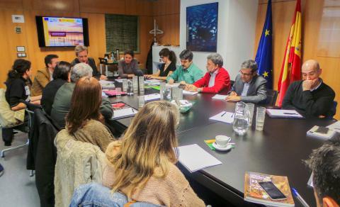 Ver la imagen en tamaño real. LIFE + SEGURARIVERLINK asiste a través de ANSE al Consejo Asesor de Custodia del Territorio de la Fundación Biodiversidad en Madrid