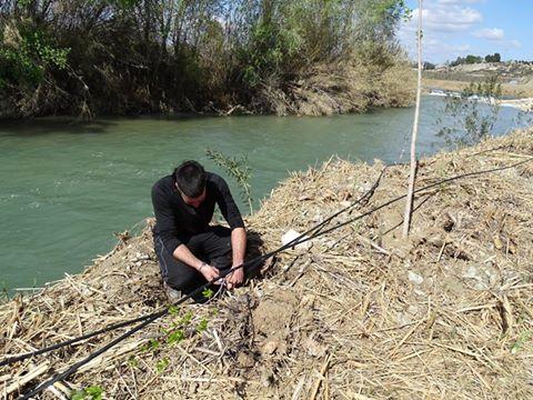 Ver la imagen en tamaño real. La participación de los propietarios a través de la Custodia del Territorio permite dotar de riego algunas plantaciones del LIFE+SEGURARIVERLINK