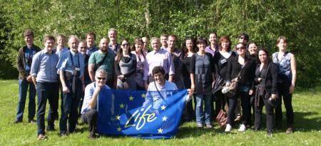Ver la imagen en tamaño real. El proyecto SEGURA RIVERLINK participa en un encuentro europeo para la adaptación y mitigación del cambio climático