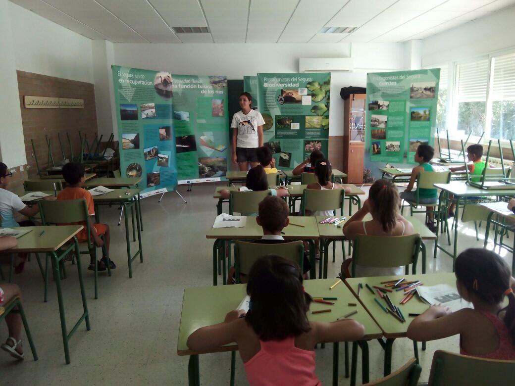 Ver la imagen en tamaño real. SEGURARIVERLINK realiza educación ambiental en las Escuelas de Verano de Cieza