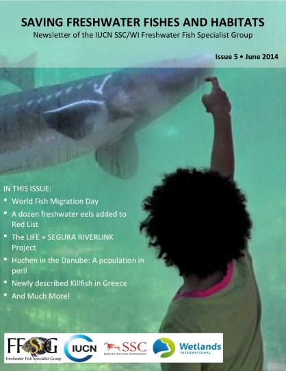 Ver la imagen en tamaño real. El LIFE + SEGURA RIVERLINK en la revista de divulgación internacional de la FFSG