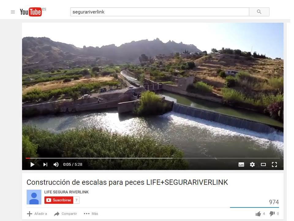 Ver la imagen en tamaño real. Estrenamos el vídeo de la construcción de escalas del LIFE+SEGURARIVERLINK en el blog Los Pies en La Tierra