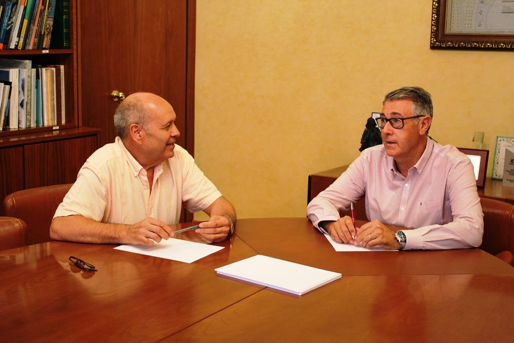 Reuni n en la chs con el director general del agua de la for Oficina virtual generalitat